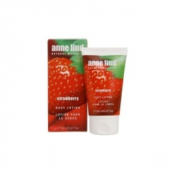 Naturalny lotion do ciała Anne Lind Strawberry - 150 ml