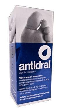 Antidral, płyn na skórę,