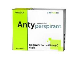 Antyperspirant, suplement diety, 30 tabletek