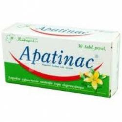 Apatinac, tabletki, 184 mg