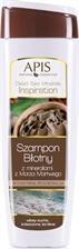 Apis Dead Sea Minerals, szampon błotny, intensywna odbudowa, 250 ml