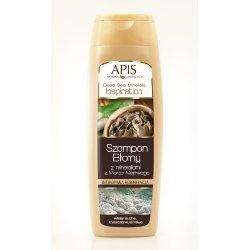 Apis Dead Sea Minerals szampon błotny z minerałami, intensywnie regenerujący, 250 ml