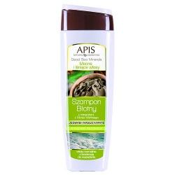 Apis Dead Sea Minerals Mocne i Lśniące włosy, szampon błotny z minerałami z morza martwego, 250 ml