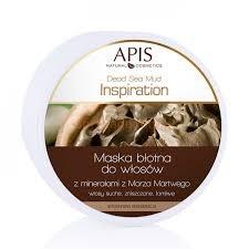 Apis Inspiration, maska błotna do włosów z minerałami z Morza Martwego, 200 ml