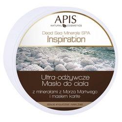 Apis Inspiration, ultra-odżywcze masło do ciała z minerałami z Morza Martwego i masłem karite, 200 g