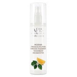 Apis Professional Home, mgiełka z ekologiczną wodą z owoców pomarańczy i komórkami macierzystymi, 150 ml