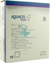 Aquacel Ag Foam, 10 x 10 cm, 1szt
