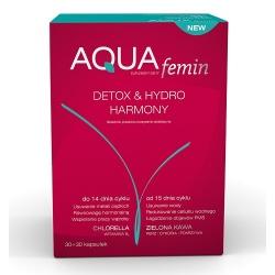 Aquafemin detox, 60 kapsułek