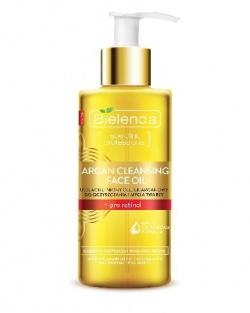 Bielenda, Argan Cleansing Face Oil, Olejek do mycia twarzy z pro-retinolem, 140ml