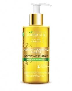 Bielenda, Argan Cleansing Face Oil, Olejek arganowy do mycia twarzy z kompleksem sebu-control, 140ml