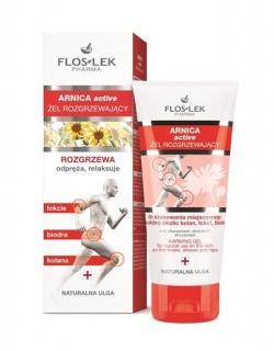 Flos-Lek Arnica Active, żel rozgrzewający, 200 ml