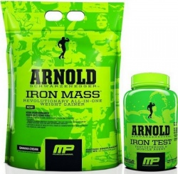 MUSCLE PHARM - ARNOLD Iron Mass - 4540g
