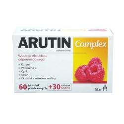 Arutin Complex, tabletki powlekane, 60 szt + 30 szt