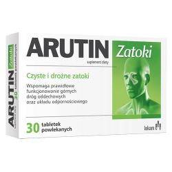 Arutin Zatoki, tabletki powlekane, 30 szt