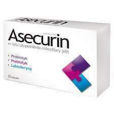 Asecurin, kapsułki, 20 szt