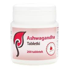 Ashwagandha w tabletkach - 200 tab