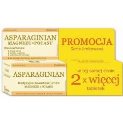 Asparaginian Magnez Potas Uniphar, tabletki, 100 szt
