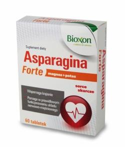 Aspargina Forte - 60 tabletek