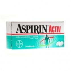 Aspirin Activ, tabletki, 10 sztuk