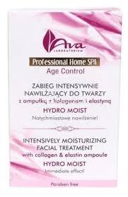 AVA Professional Home SPA zabieg intensywnie nawilżający do twarzy