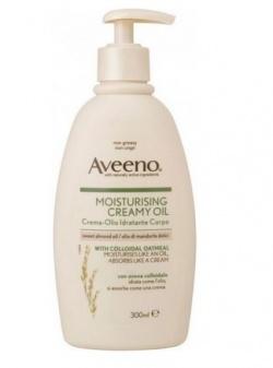 Aveeno, kremowy olejek z mączką owsianą, 300ml