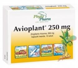 Avioplant, 250 mg, kapsułki, 250 mg, 10 sztuk