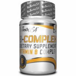 BioTech - B-COMPLEX 60 tab wit