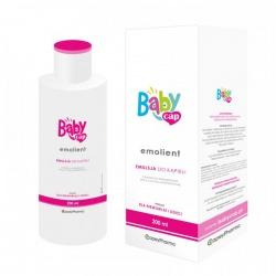 BabyCap, Emolient, Emulsja do kąpieli dla niemowląt i dzieci, 200ml