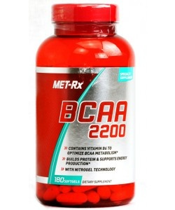 MET-RX - BCAA 2200 - 180 kaps