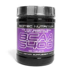 SCITEC - BCAA 6400 - 375tab