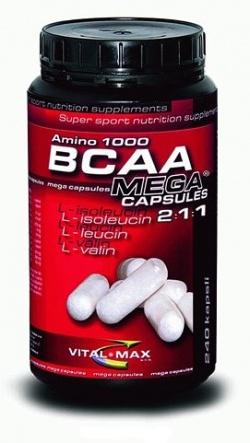 VITALMAX - BCAA Amino   Mega Capsules - 120 kap