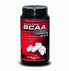 VITALMAX - BCAA Amino  1000 Mega Capsules - 60 kap