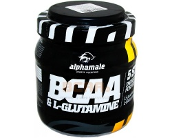 ALPHA MALE - BCAA + L GLUTAMINE - 500g