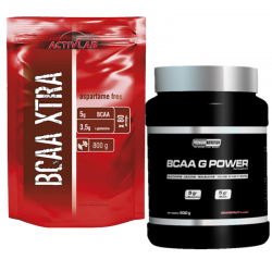 BCAA Xtra + BCAA G Power