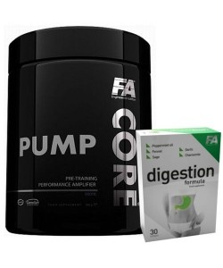 FITNESS AUTHORITY - BCAACore (BCAA Core) + Digestion Formula - 350g + 30kaps
