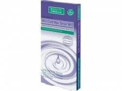 Beauty Formulas, plastry do depilacji Cold Wax, 20 szt