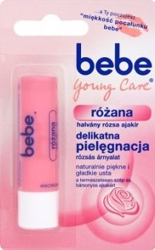 Pomadka Bebe Young Care różana