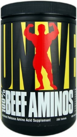 UNIVERSAL NUTRITION - 100% Beef Aminos - 200tab