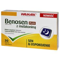 Benosen z melatoniną Plus, tabletki powlekane, 30 szt
