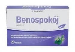 Benospokój, 20 tabletek