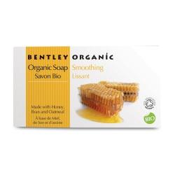Bentley Organic, Bezpieczne Wygładzające Mydło z Miodu, Otrąb i Płatków Owsianych, 150g