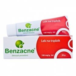 Benzacne,10%, żel, 30 g