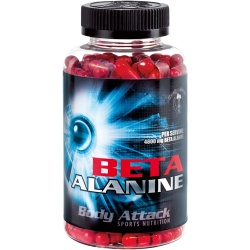 BODY ATTACK - Beta Alanine - 210kaps