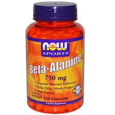 NOW - Beta-Alanine 750 mg - 120 caps
