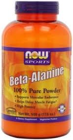 NOW - Beta-Alanine - 500 g