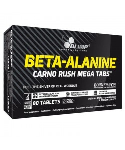 OLIMP - Beta Alanine Carno Rush MT - 80tab