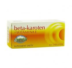 Beta Karoten + Witamina E, tabletki, 60 szt