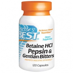 Doctor's Best Betaina HCl 120kaps 650mg