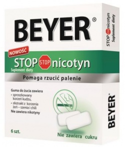 BEYER STOP NICOTYN GUMA DO ZUCIA ID 83342
