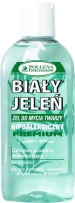 Hipoalergiczny żel do mycia twarzy BIAŁY JELEŃ z aloesem i ogórkiem, 175 ml